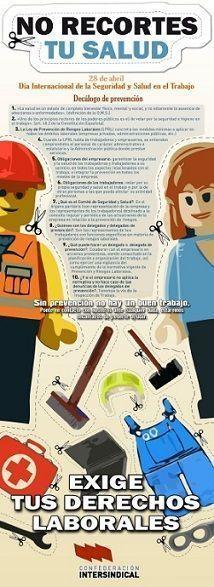 28 de Abril. Dia Interrnacional de la Seguridad y Salud en el Trabajo