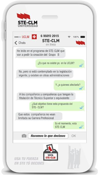 Propuestas de STE Elecciones 2015